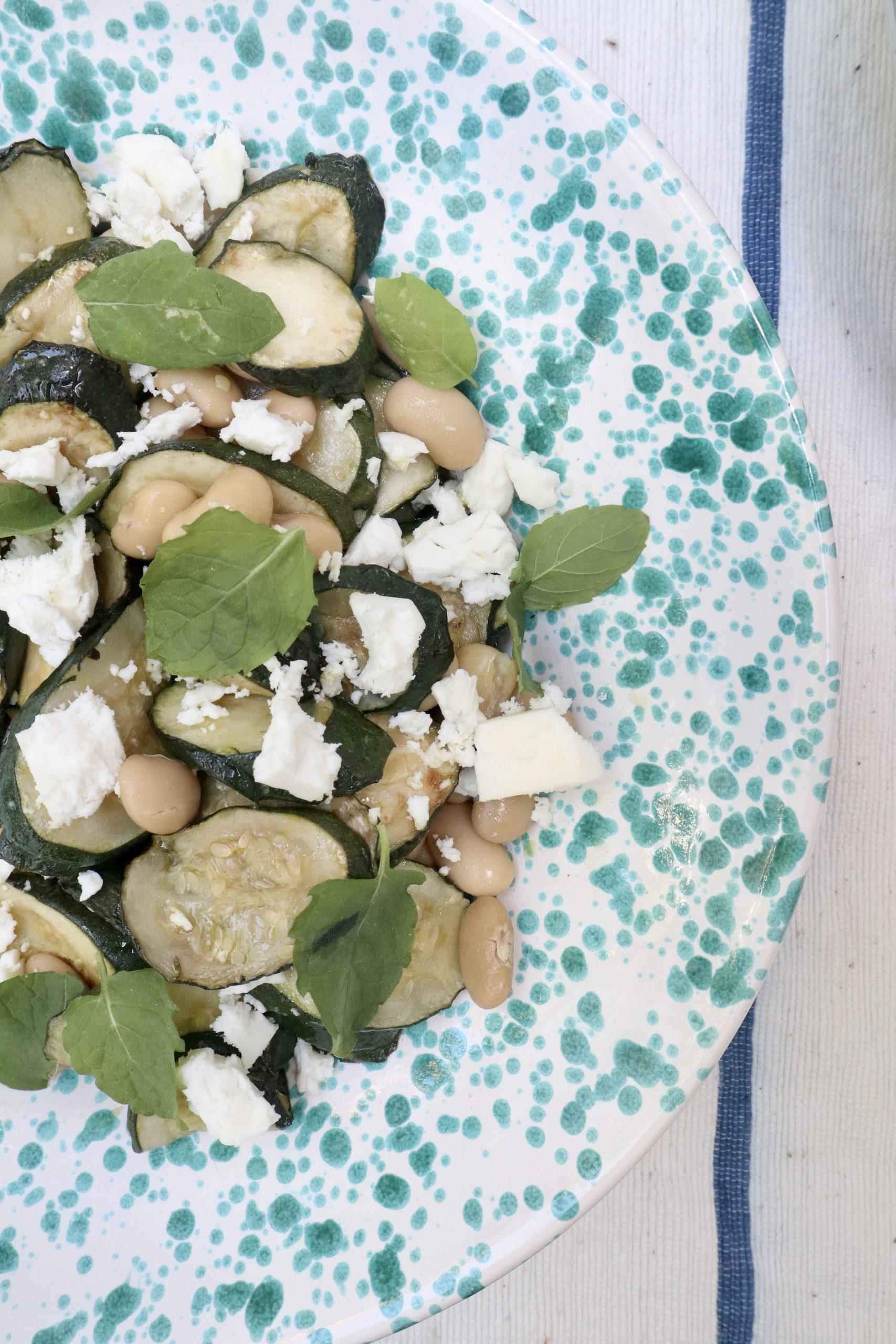 courgette salad corporate catering menu