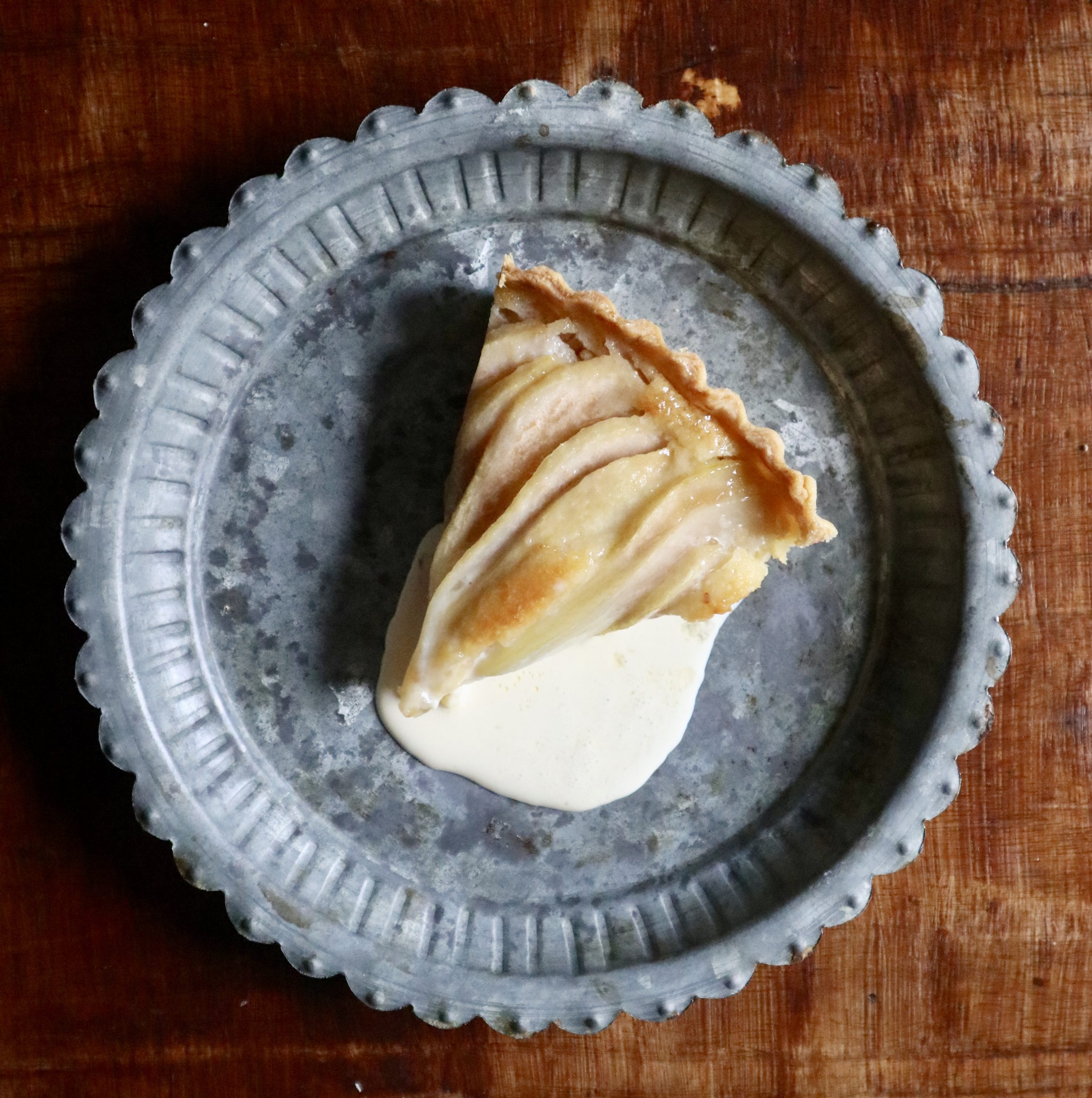 pear tart private catering menu