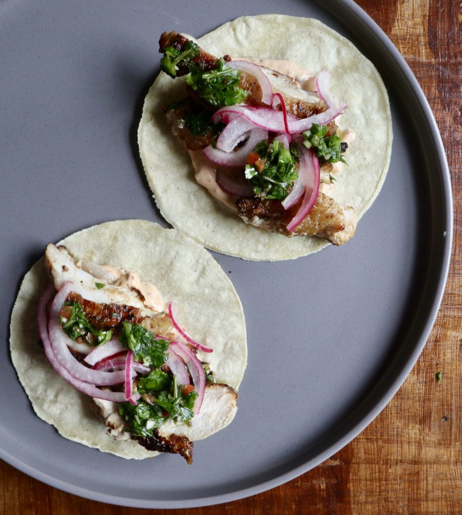 tacos private catering menu